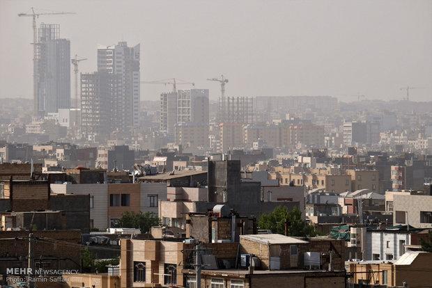 کیفیت هوای مشهد در شرایط ناسالم نهاده شد