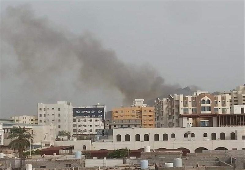 یمن، فرودگاه بین المللی عدن بسته شد، ادامه درگیری های شدید میان مزدوران