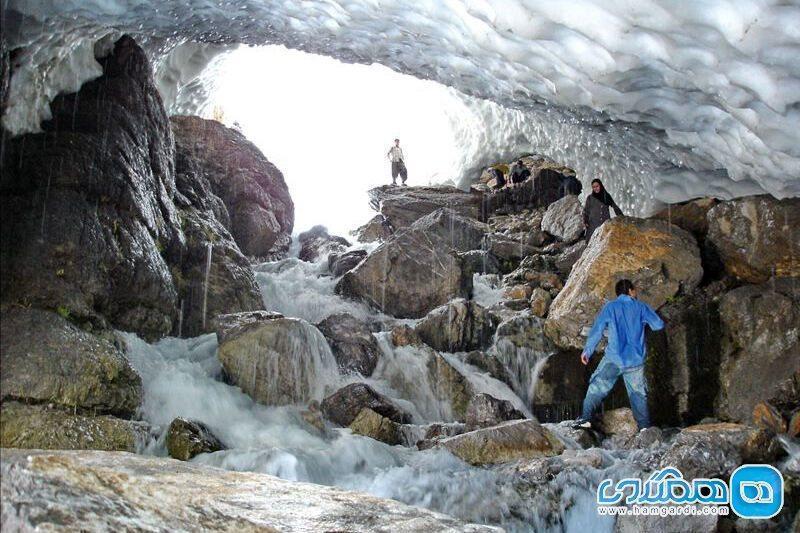 تونلی زمستانی در دل تابستان