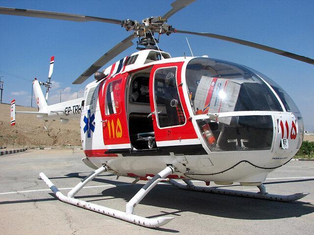 راه اندازی اورژانس هوایی در فرودگاه سردار جنگل رشت