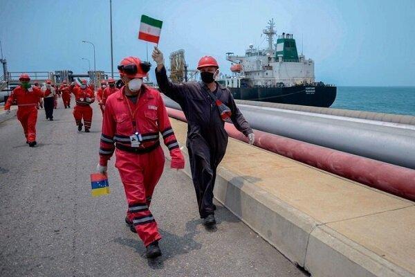 چهارمین نفت کش ایران وارد آب های ونزوئلا شد